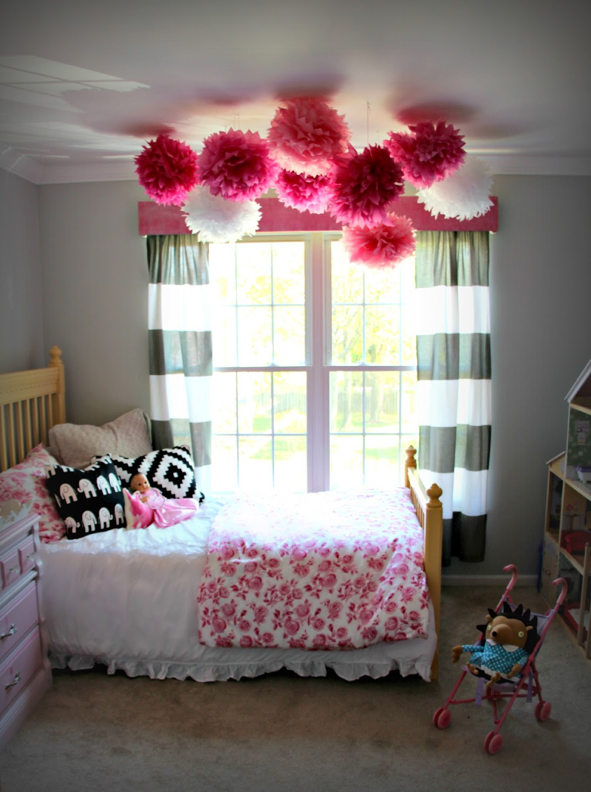 Also They Look Fabulous If You Use Two Panels On One Window I Really Enjoy The Little Pink Monster Kanes Wife Used For Her Daughters Bedroom