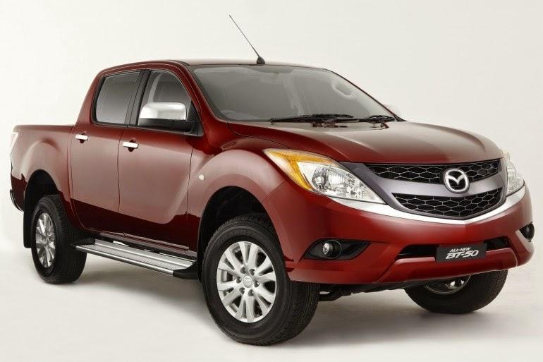 новый Mazda BT50