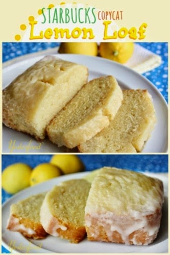 Starbucks Lemon Loaf @ Yesterfood