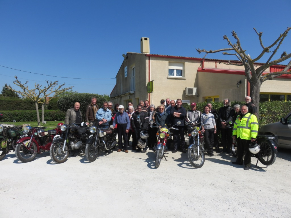 SORTIE MOTOS CARCASSONNAISE 9 AVRIL 2017