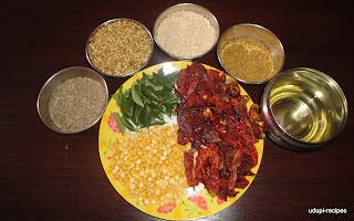 udupi sambar powder ingredients