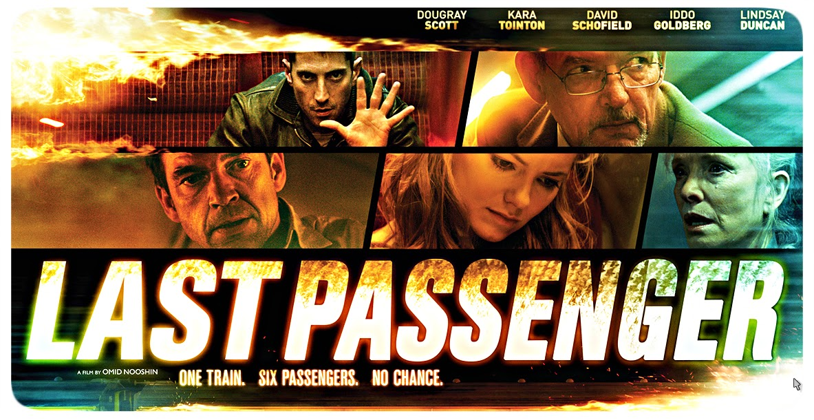 Last Passenger 2013 Movie Poster
