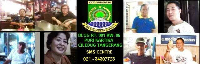 BLOGS  RT.01/06 PURI KARTIKA