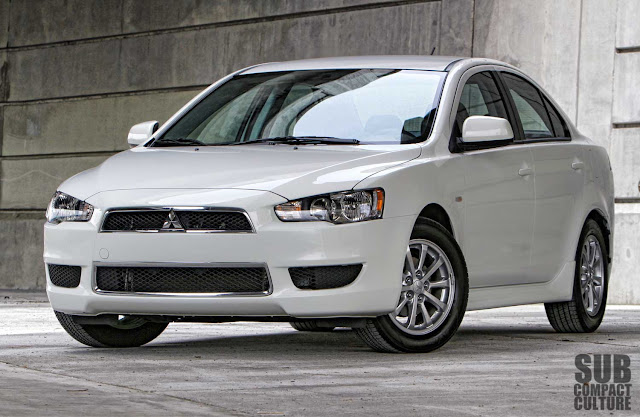 "Mitsubishi Lancer review ""all wheel drive"" AWD AWC"