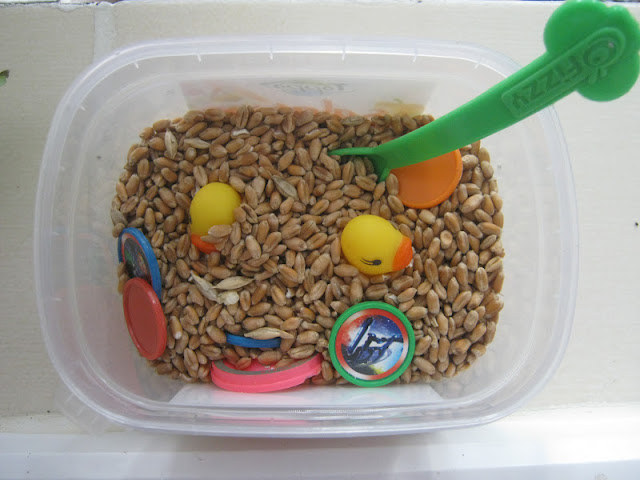 mini sensory bin