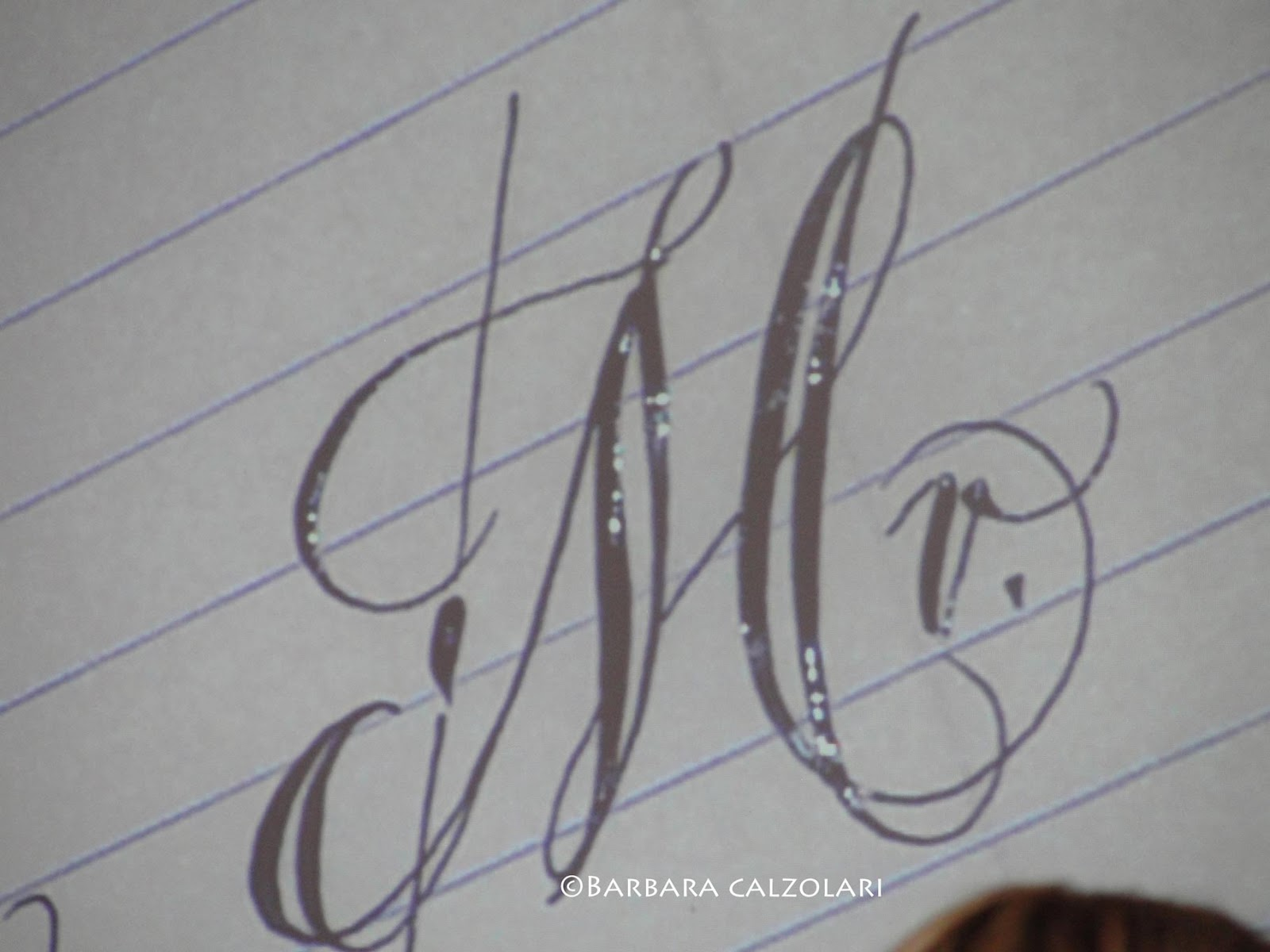 Pin Calligraphy Letter M Fountain Pen 2002 On Pinterest