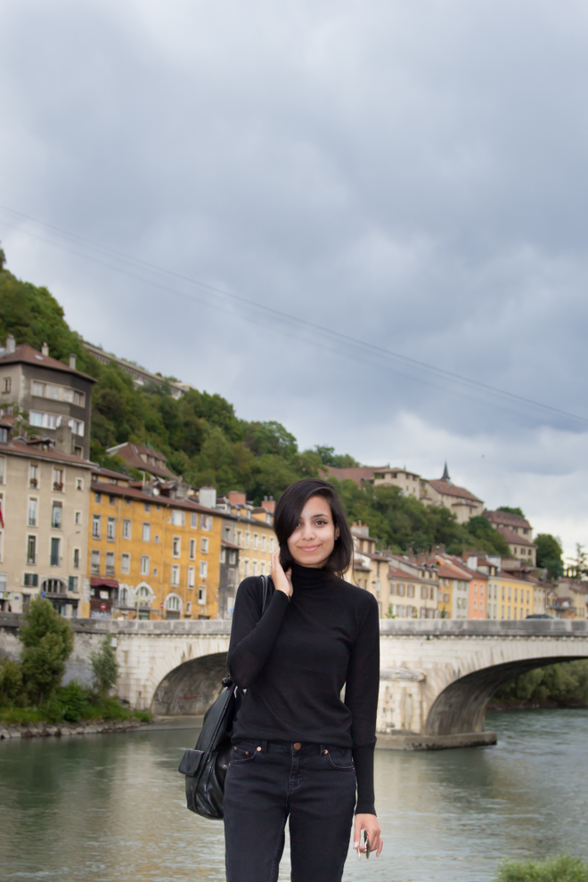 Why Delilah?- Fall-ish. All black outfit in Grenoble