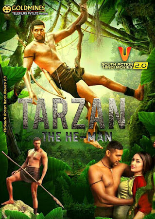 Poster Of Tarzan The Heman In Hindi Dubbed 300MB Compressed Small Size Pc Movie Free Download Only At worldfree4u.com