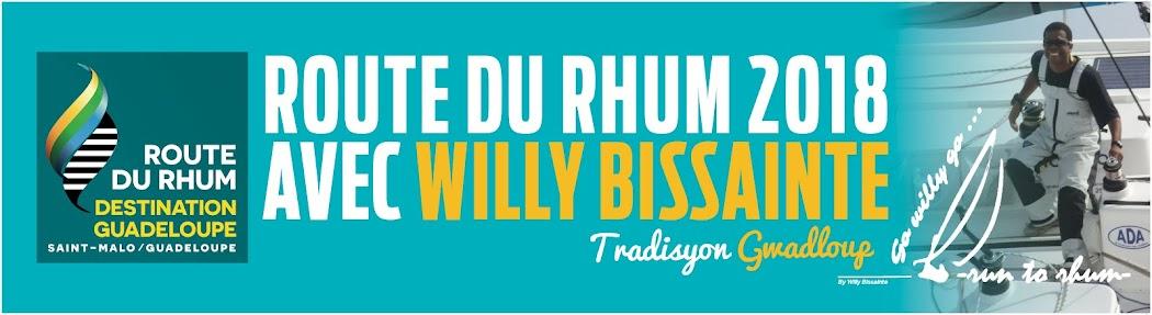Cap sur la Route du Rhum 2018 avec Willy Bissainte
