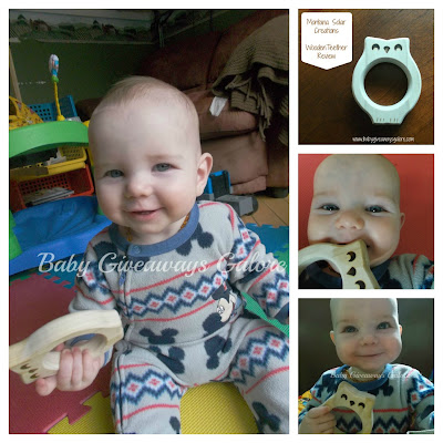 Montana Solar Creations, Wooden Teether, Review