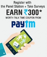 Paytm : Share your Opinion and earn Online Vouchers