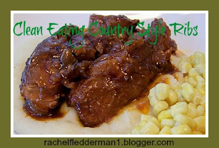 Clean Eating Country Style Ribs