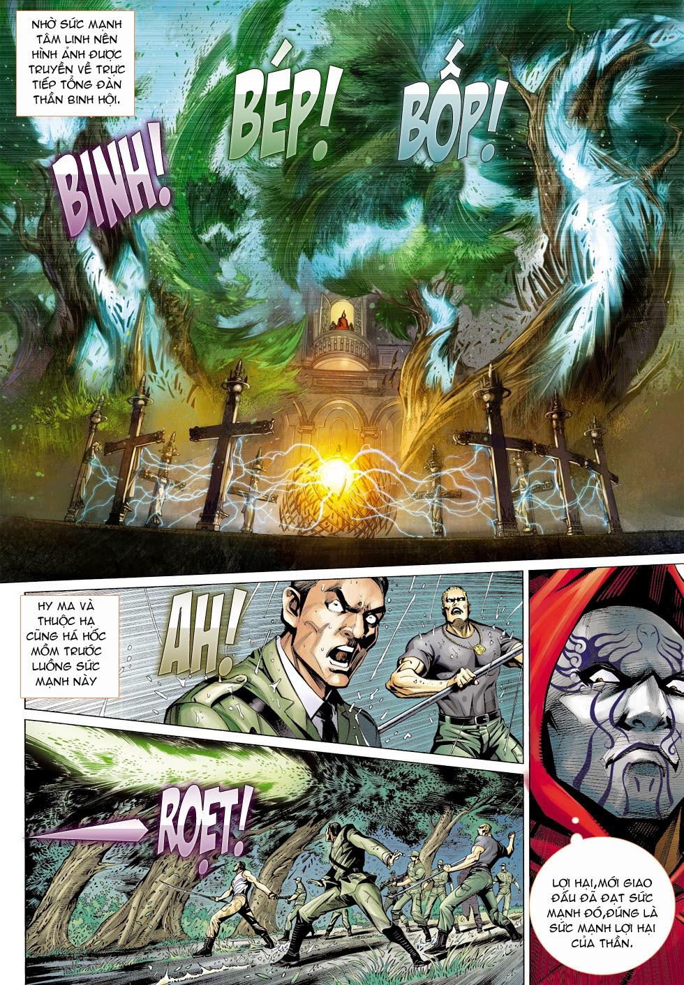 Thần Binh 4 chap 26 - Trang 19