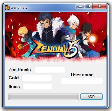 Zenonia 5 Hack