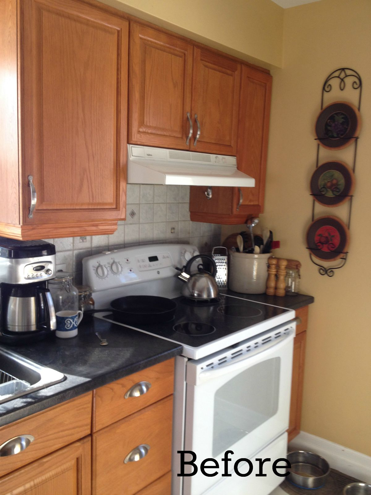 Hack Your Kitchen For An Over The Range Microwave Update Way Less Cash Frugal Family Times