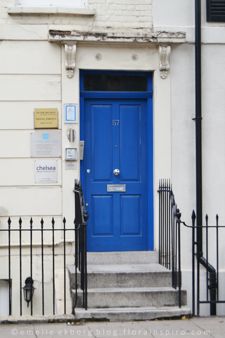 london doors, front doors, blue doors, colourful doors, streets of london, kings road london, portobello road london