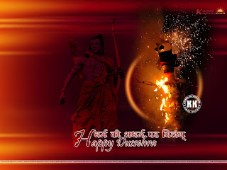 Vijayadashami (Dasara,Dussehra) Greetings Wallpapers