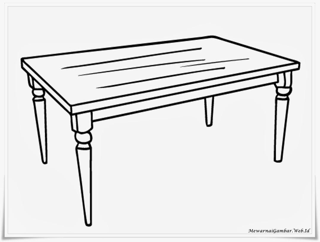 jati meja makan mewah 2015 Meja Desain idamanfo Kartun Gambar
