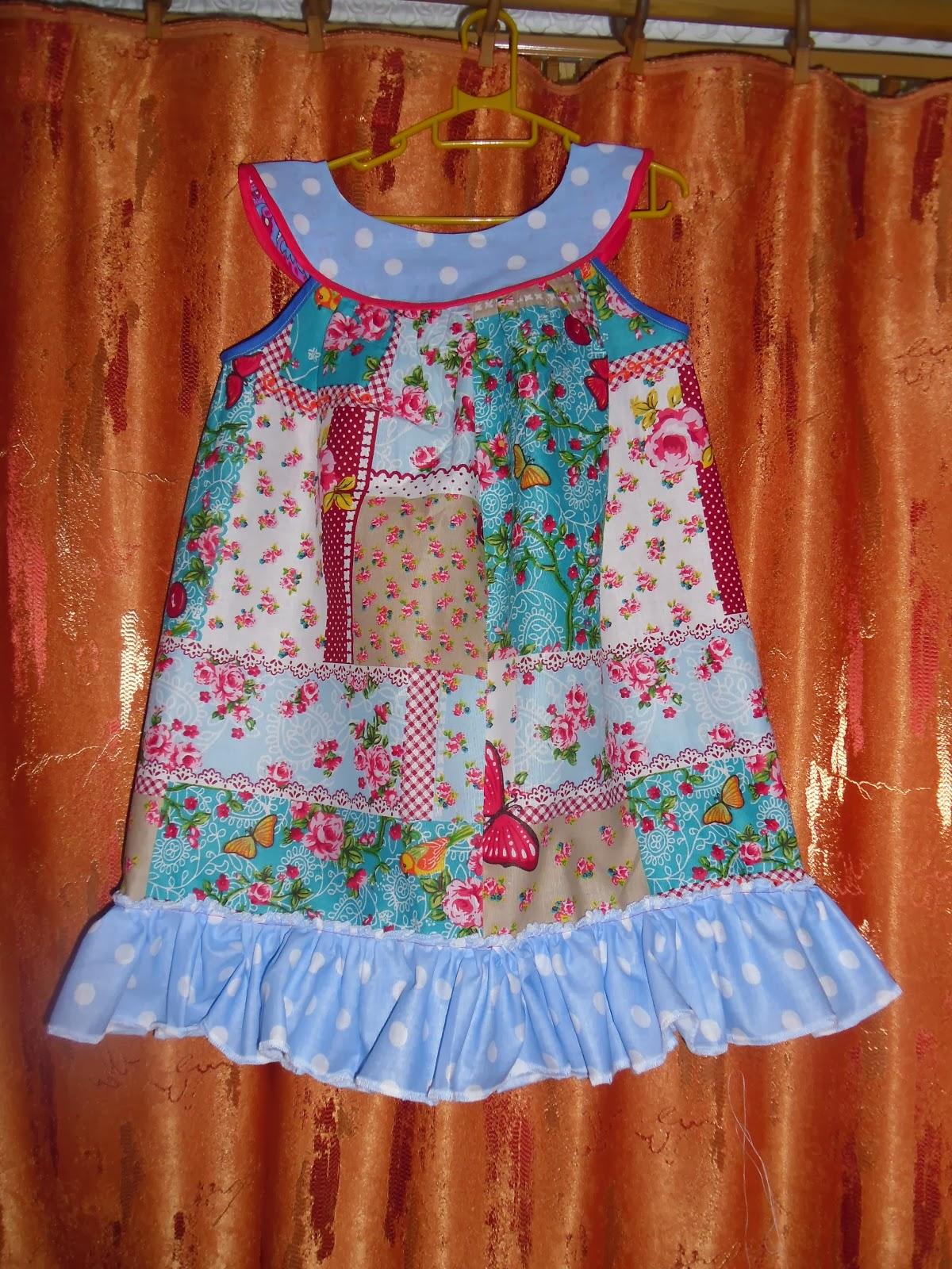 Своими руками шью детское платье