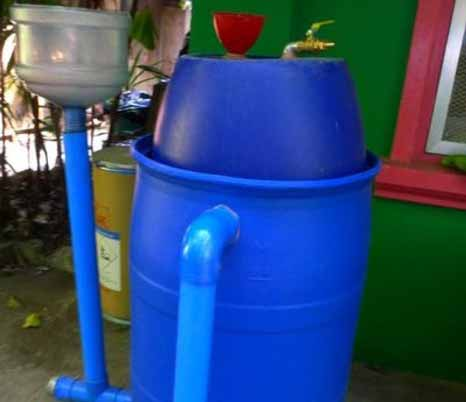 Portable Type Bio Gas Plant Type 02 Part 50