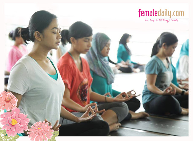 Vinyasa Yoga with Glyderm & Female Daily