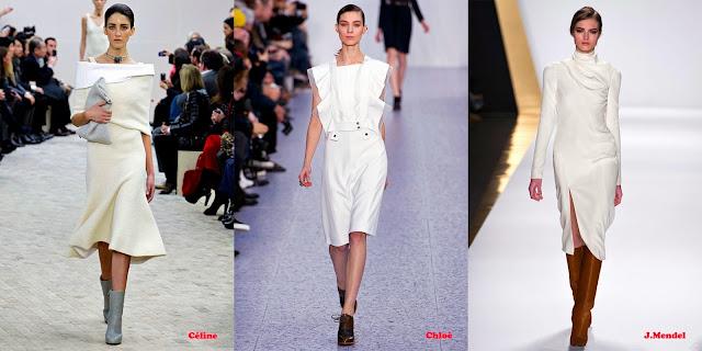 Tendencias mujer otoño/invierno 2013/14 color blanco