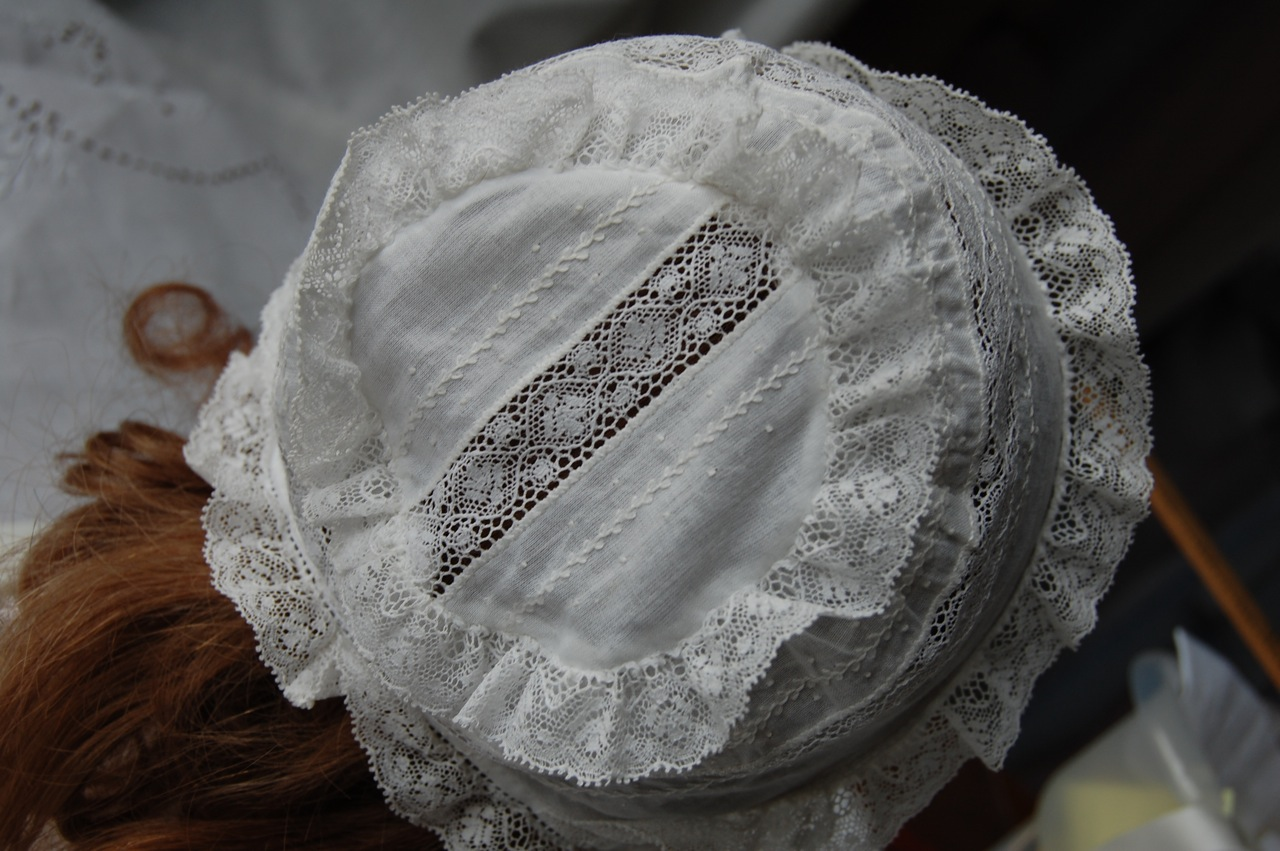 Old Fashioned Baby Bonnets 41