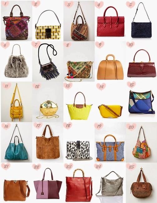 Bolsas comprar no exterior