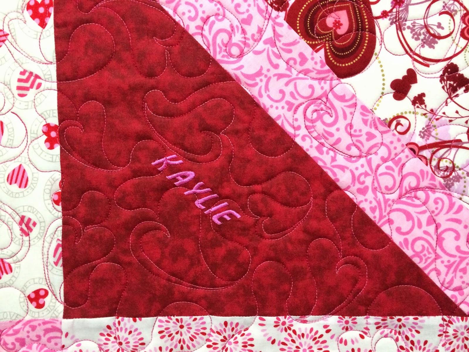 Wendy Bell's Valentine Quilt