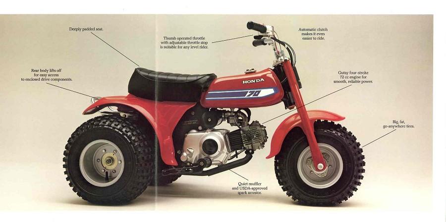 Honda Atc 70 : Honda atc lsr bikes