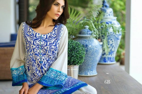 Eid Lawn Collection 2014 By Sana Safinaz