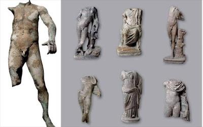 Παρουσίαση του Μουσείου Εναλίων Αρχαιοτήτων, στο λιμάνι του Πειραιά