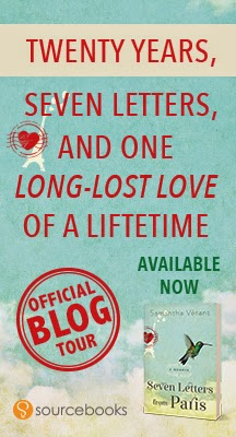 Seven Letters From Paris Blog Tour