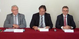 Conférence de presse à Prades-le-Lez