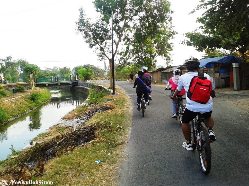 Perjalanan menyusuri Selokan Mataram, Babarsari
