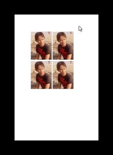 Cara Membuat Pas Poto Dengan Ukuran 3 x 4