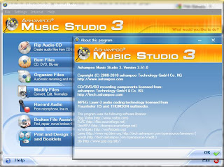 ASHAMPOO MUSIC STUDIO 3.51 FINAL DAN 4.0.0 BETA