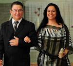 Pastor Jovair Jacinto Rosa e Pastora Kelly