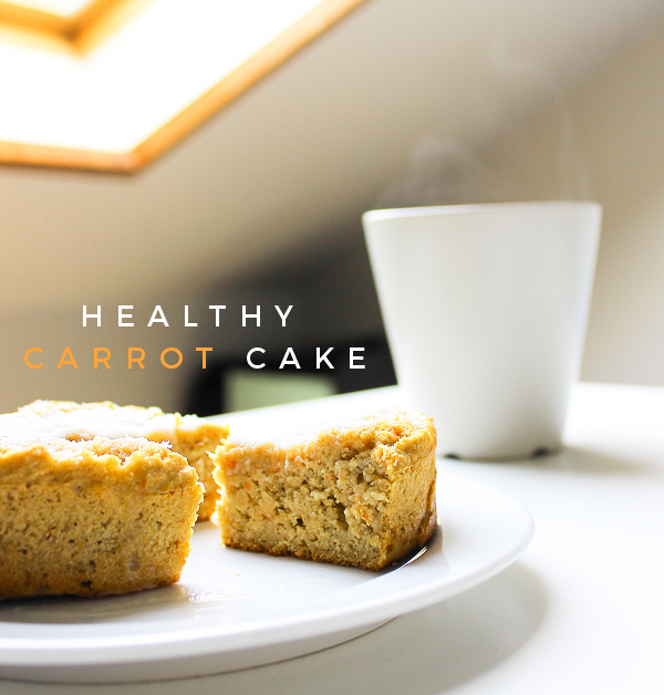Healthy Clean Mini Carrot Cake