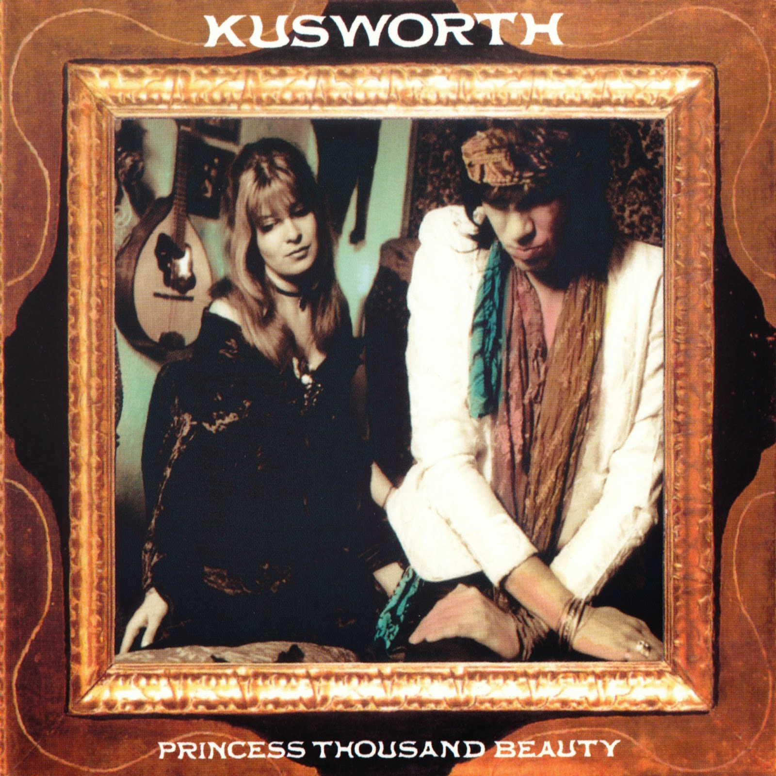 DAVE KUSWORTH & LOS TUPPER nuevo disco en Septiembre. Dave+Kusworth+-+Princess+Of+Beauty+front