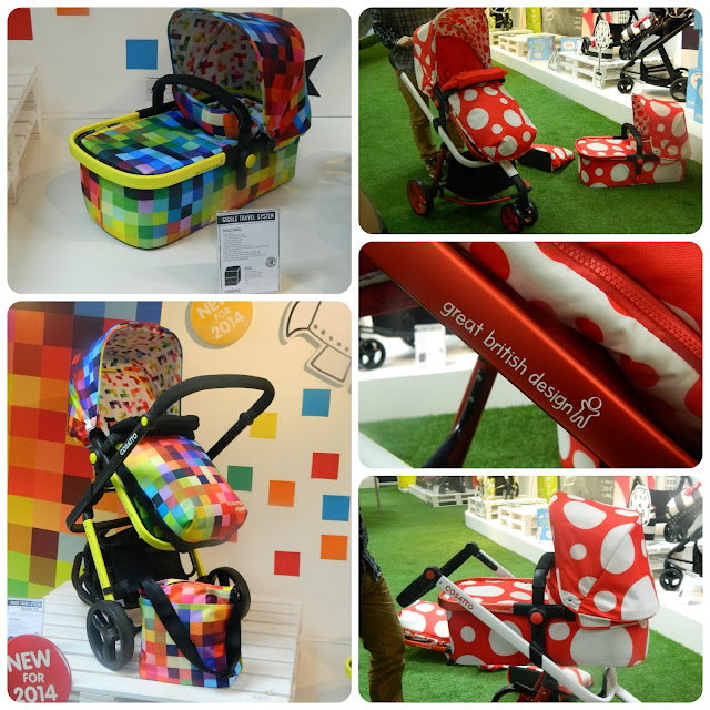 Cosatto Giggle Pixelate and Red Bubble Spring Summer 2014