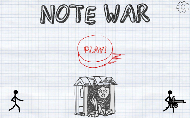 Note Wars Gameplay IOS / Android
