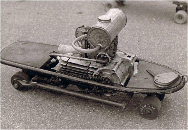 Wackyboards Vintage Motorized Skateboards