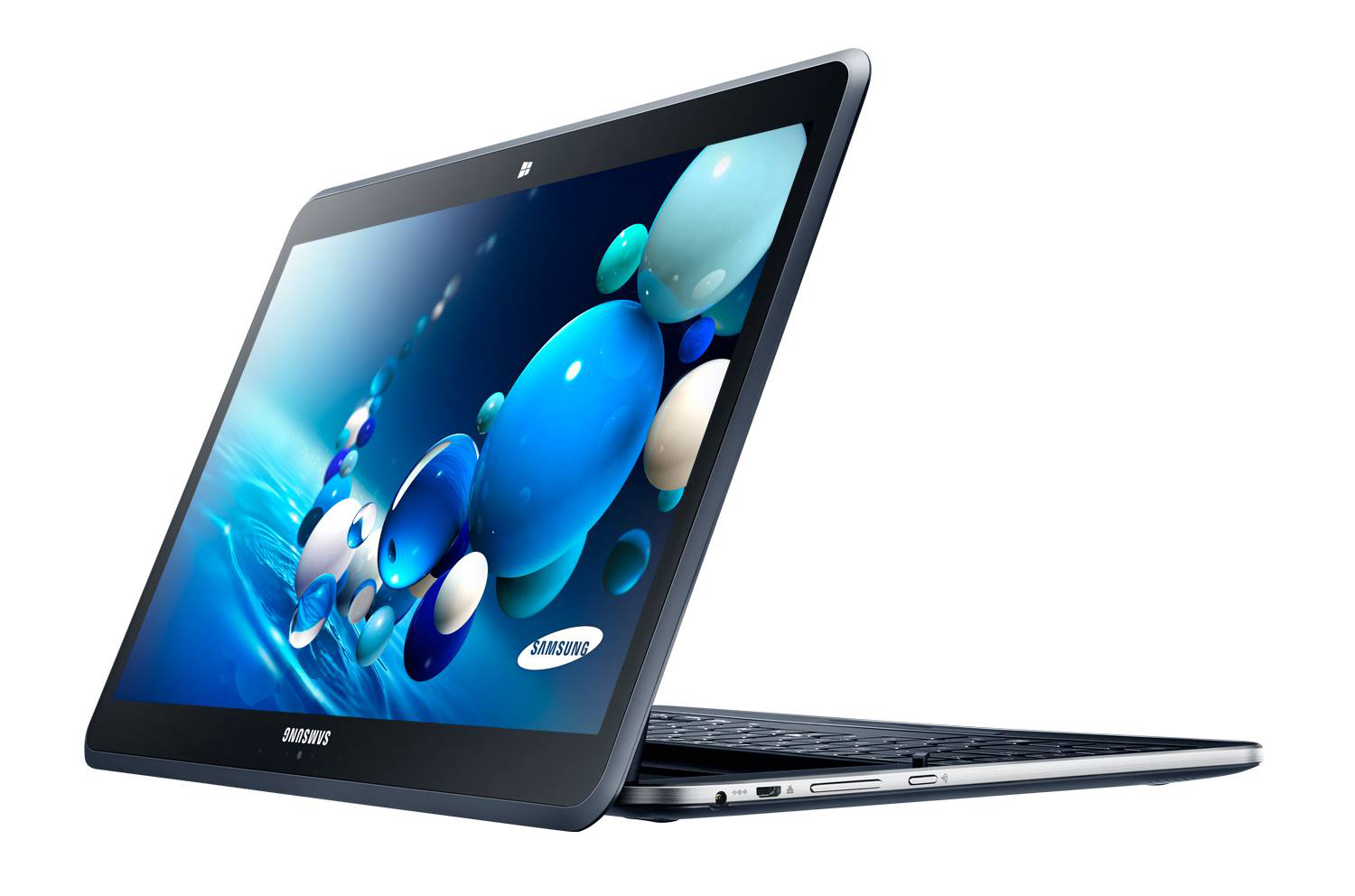 Launched now samsung unveils ativ q tablet laptop hybrid for Notebook tablet