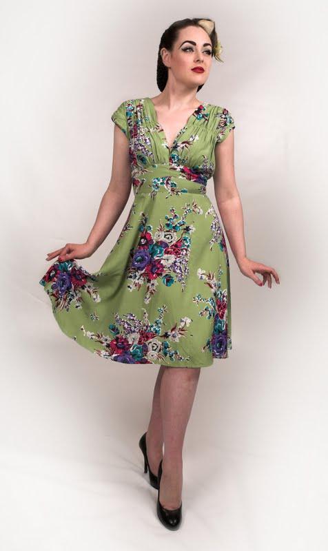 1940s style tea dresses uk