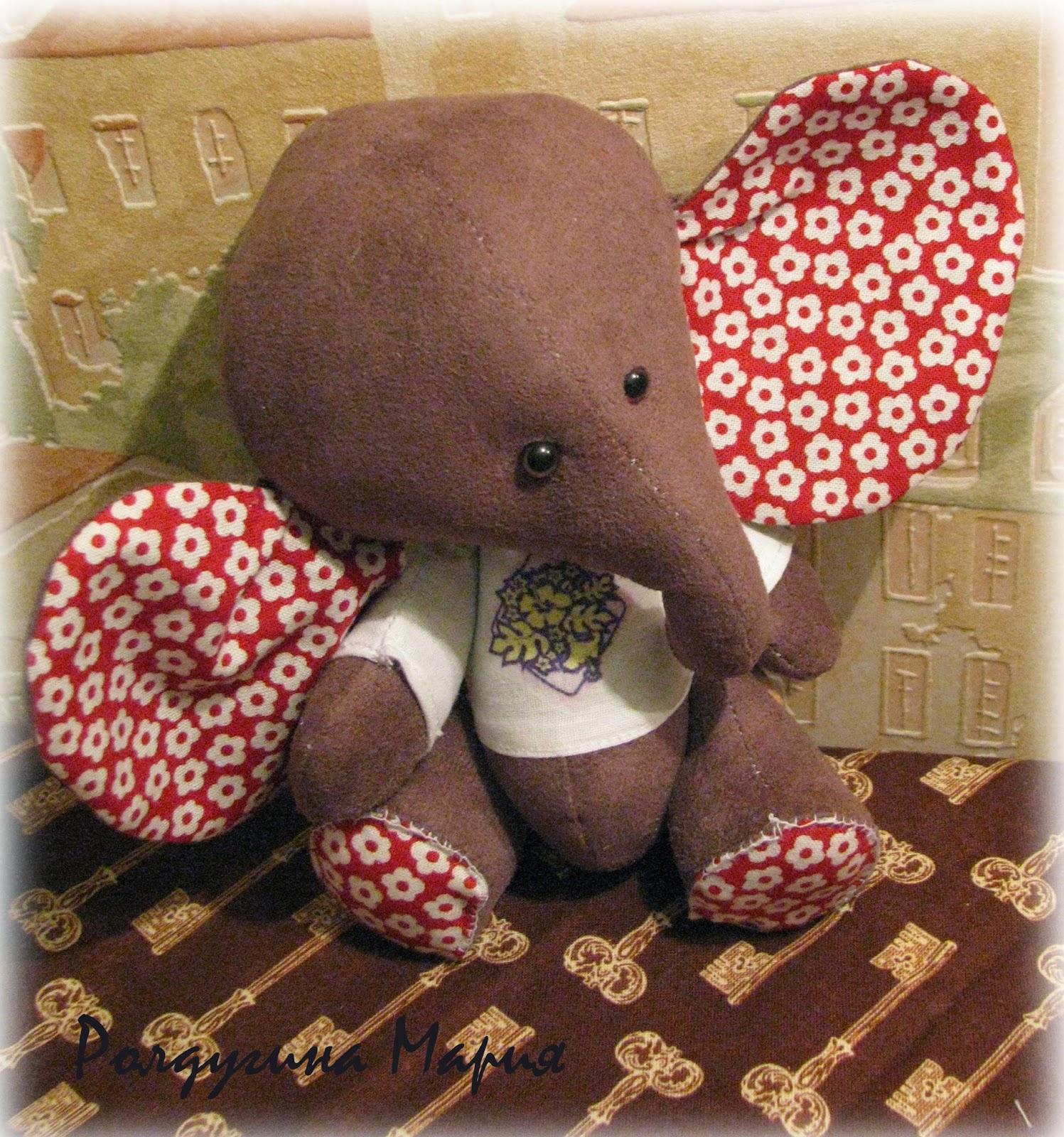 тедди - слон