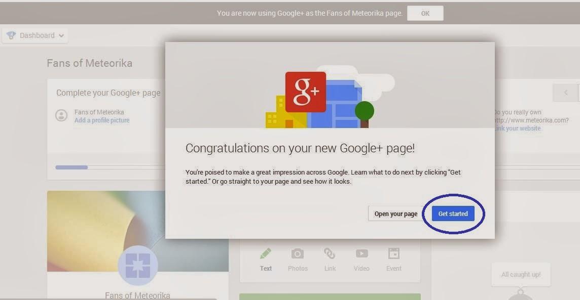 Cara Membuat Halaman di Google+