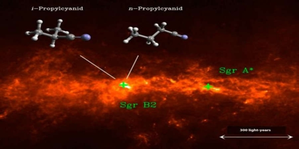 Μόριο με ιδιότητες ζωής εντοπίστηκε στα βάθη του Γαλαξία