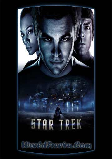 Poster Of Star Trek (2009) In Hindi English Dual Audio 300MB Compressed Small Size Pc Movie Free Download Only At worldfree4u.com