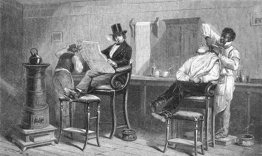 Henry Samuel, Frankfort Barber and Free Man of Color